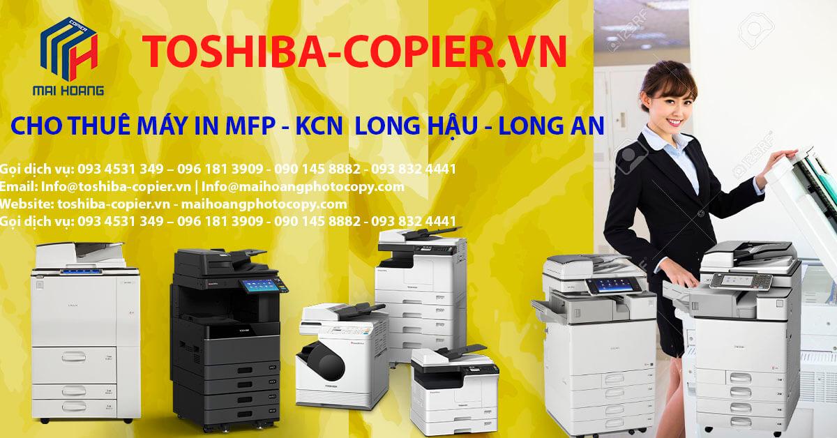 cho thuê máy photocopy ở khu công nghiệp long hậu cần giuộc long an – khi Quý Khách có nhu cầu thuê máy photocopy màu tại quận 9 cho văn phòng của mình, toshiba-copier là công ty chuyên cung cấp dịch vụ cho thuê máy photocopy long an uy tín - chất lượng, đa dạng về chủng loại với nhiều công suất máy khác nhau, giá thuê luôn cạnh tranh , linh động với nhiều mức giá để quý khách lựa chọn nhằm phù hợp với nhu cầu của mình.