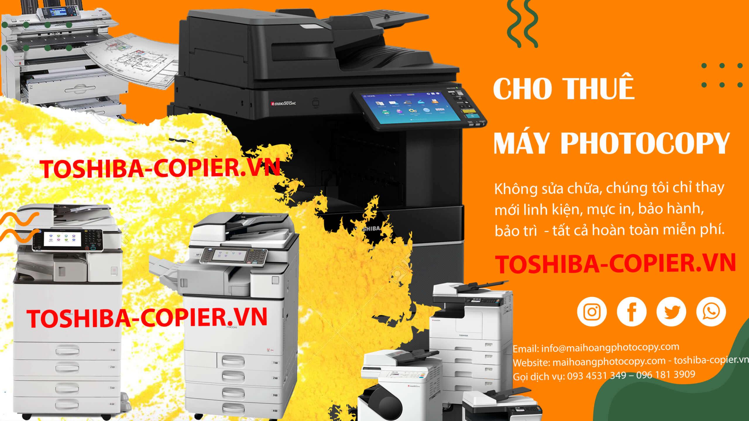 cho thuê máy photocoy đen trắng