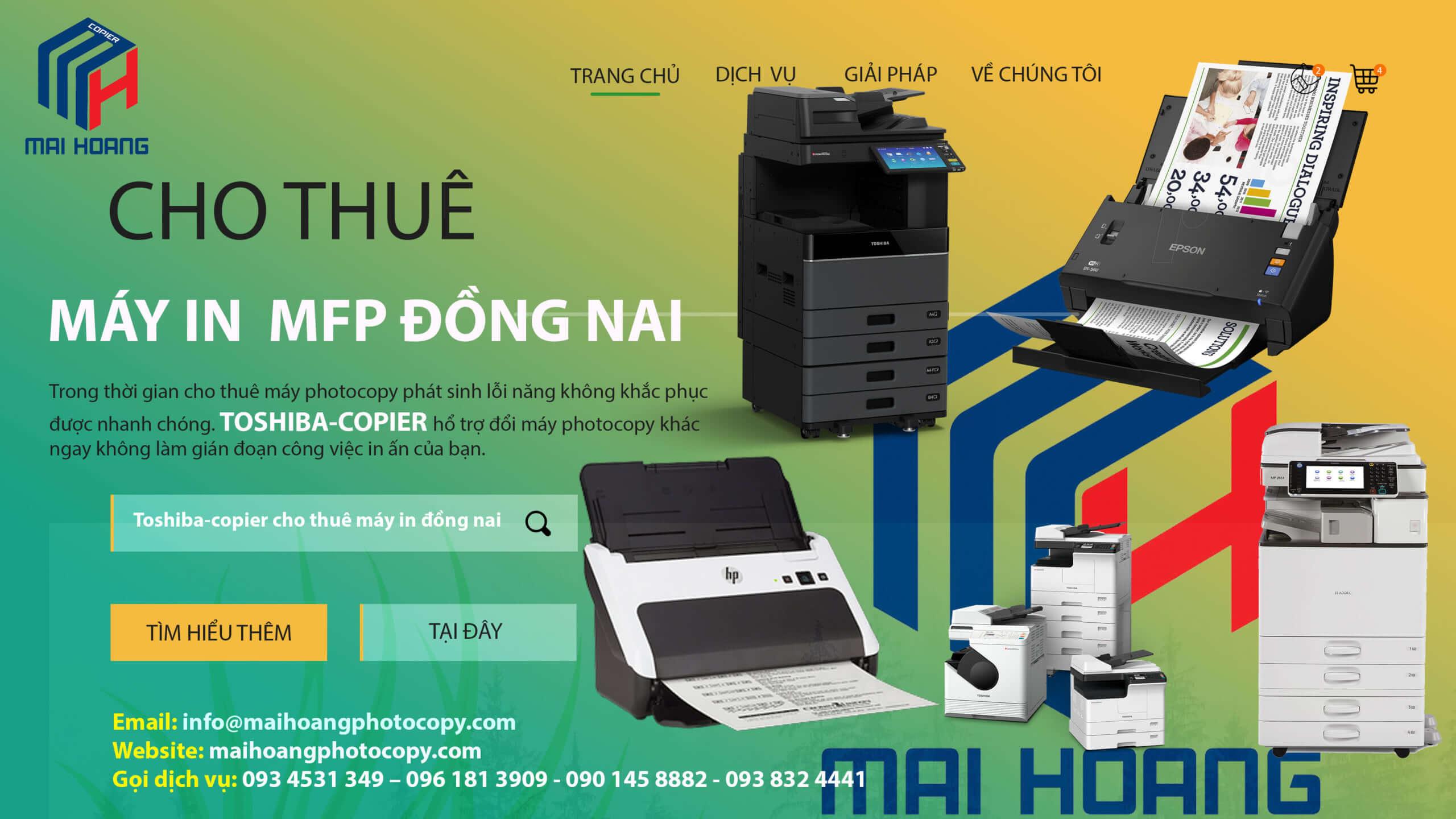 cho thuê máy photocopy tại đồng nai