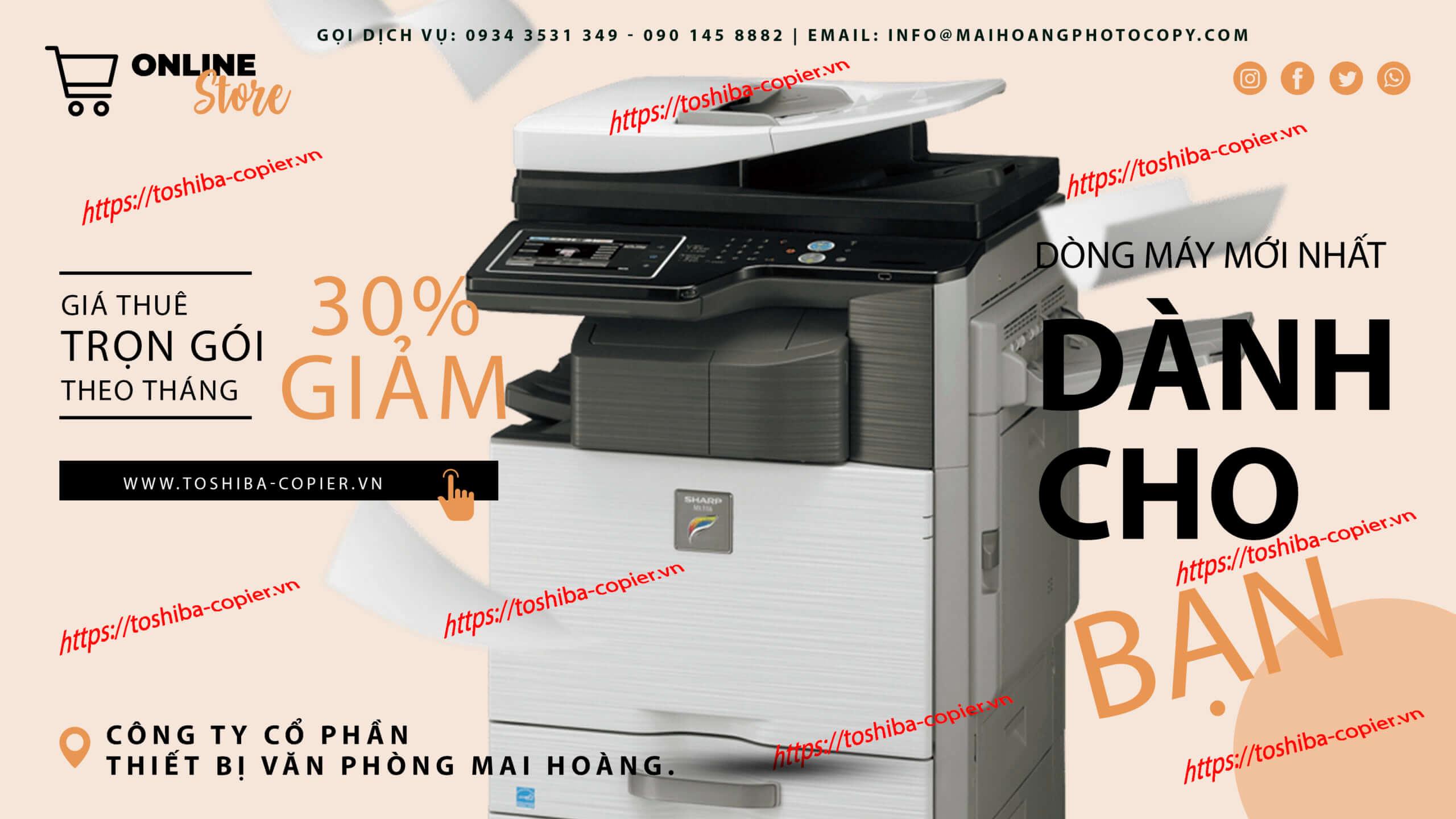 cho thuê máy photocopy sharp Tại sao bạn nên mua máy photocopy Sharp? Đây là những lý do