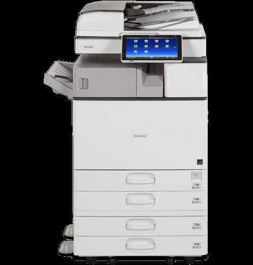 Cho thuê máy photocopy Ricoh 5054 đen trắng tại long an