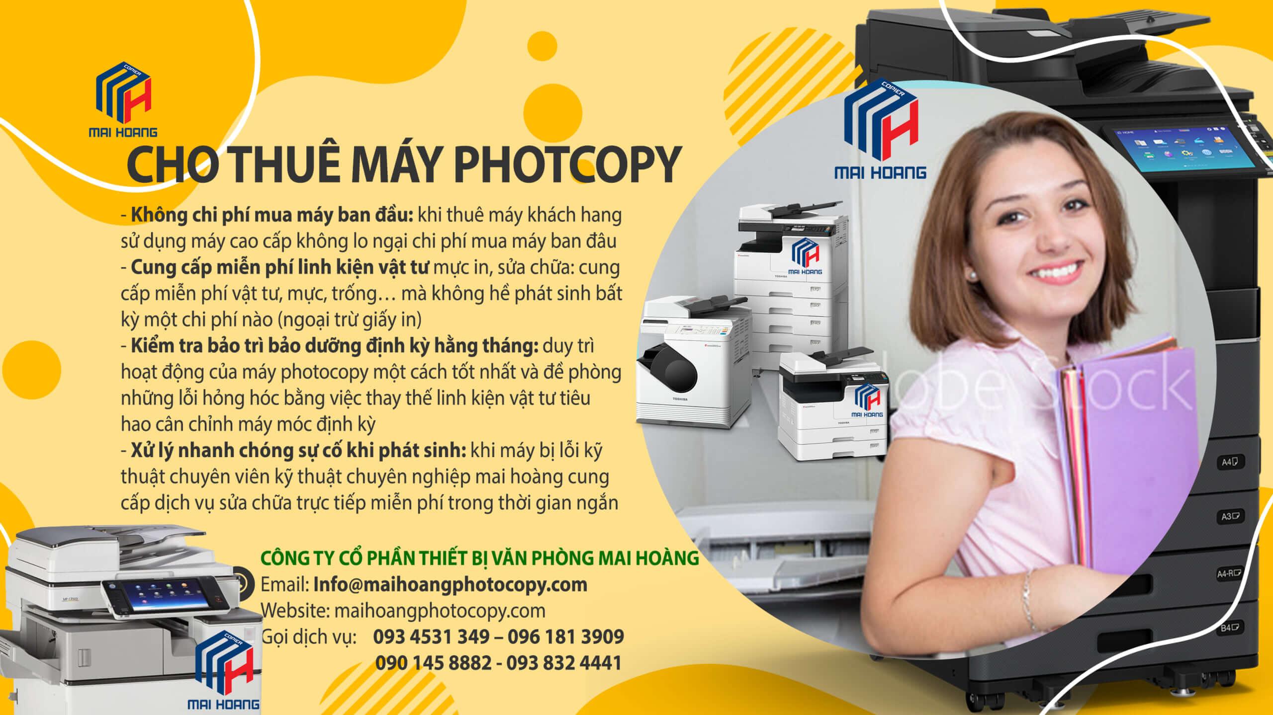 Hướng Dẫn Về Dịch Vụ Cho Thuê Máy Photocopy
