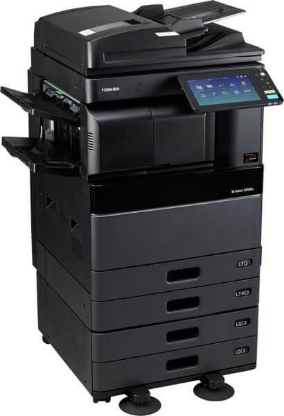Cho thuê máy photocopy TOSHIBA 2508A/3008A/3508A/4508A/5008A đen trắng ở kcn thạnh đức