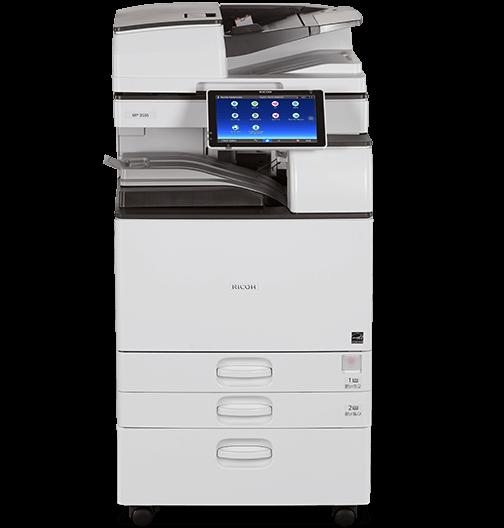 Cho thuê máy photocopy RICOH MP 2554/3054/6054/5054/4054 đen trắng kcn cầu cảng phước đông