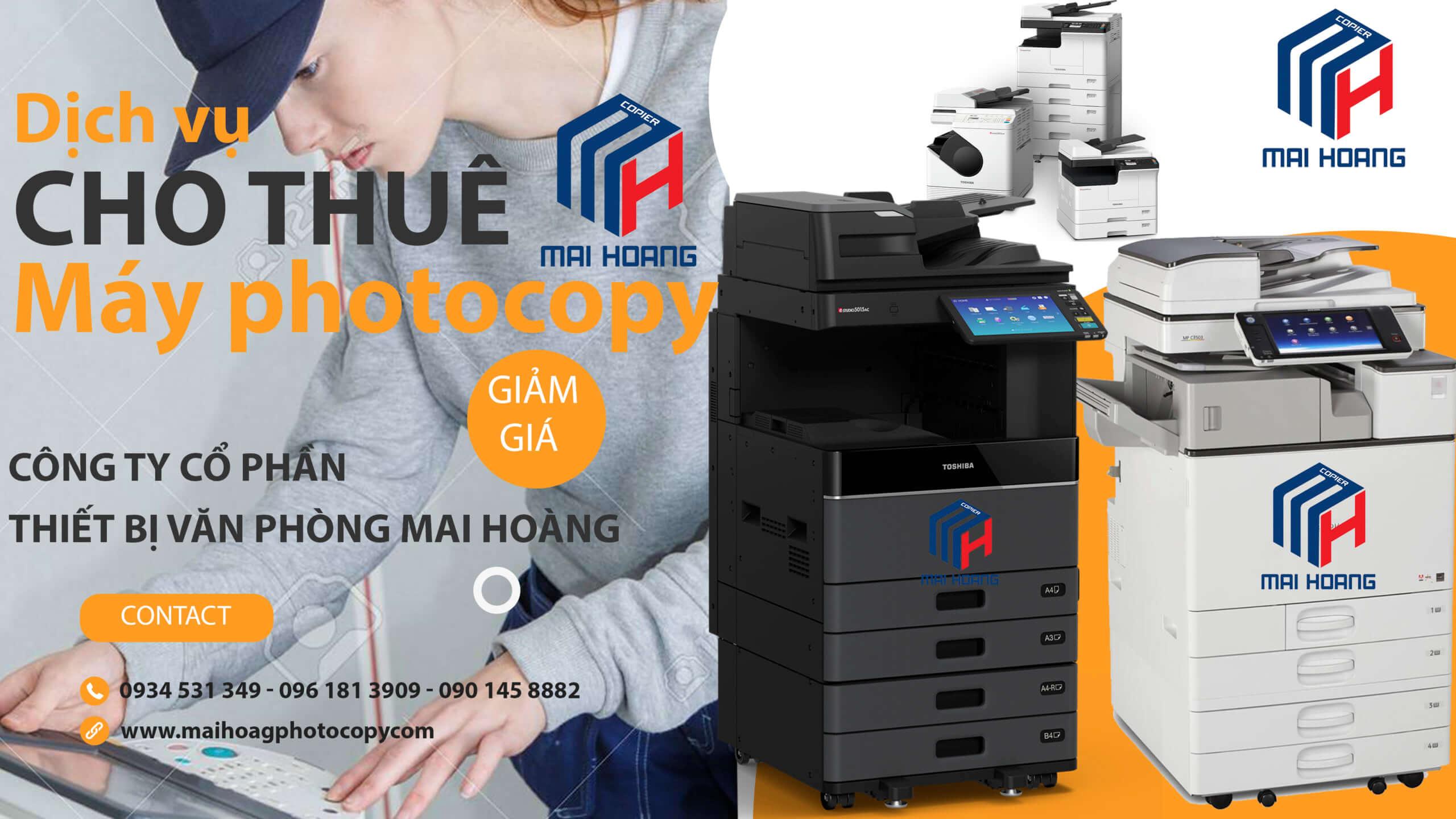 Bảng Giá Dịch vụ Cho Thuê Máy Photocopy Ở Khu Công Nghiệp thạnh đức Bến Lức Long An