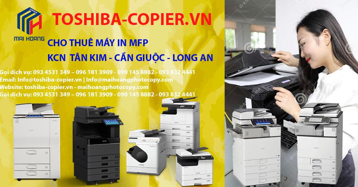 cho thuê máy photocopy ở khu công nghiệp tân kim cần giuộc long an