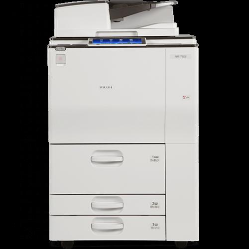 Cho thuê máy photocopy RICOH MP 6003/7502/7503 B/W ở kcn cầu tràm