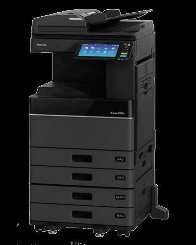 Cho thuê máy photocopy TOSHIBA 2508A/3008A/3508A/4508A/5008A đen trắng ở kcn tân đô - long an