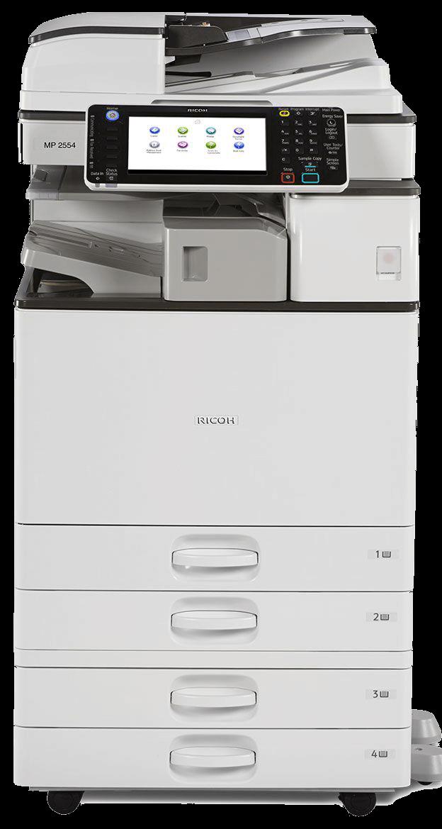 Cho thuê máy photocopy RICOH MP 2554/3054/6054/5054/4054 đen trắng tân đô long an