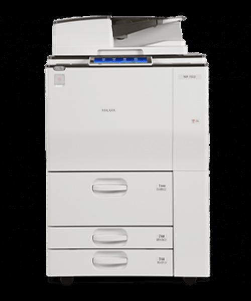 Cho thuê máy photocopy RICOH MP 6003/7502/7503 B/W ở kcn tân đô - long an