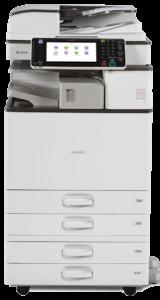 Cho thuê máy photocopy RICOH MP 2554/3054/6054/5054/4054 đen trắng thành phố dĩ an.