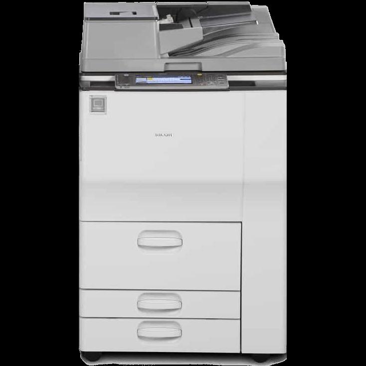 Cho thuê máy photocopy RICOH MP 6003/7502/7503 B/W ở nhà bè.