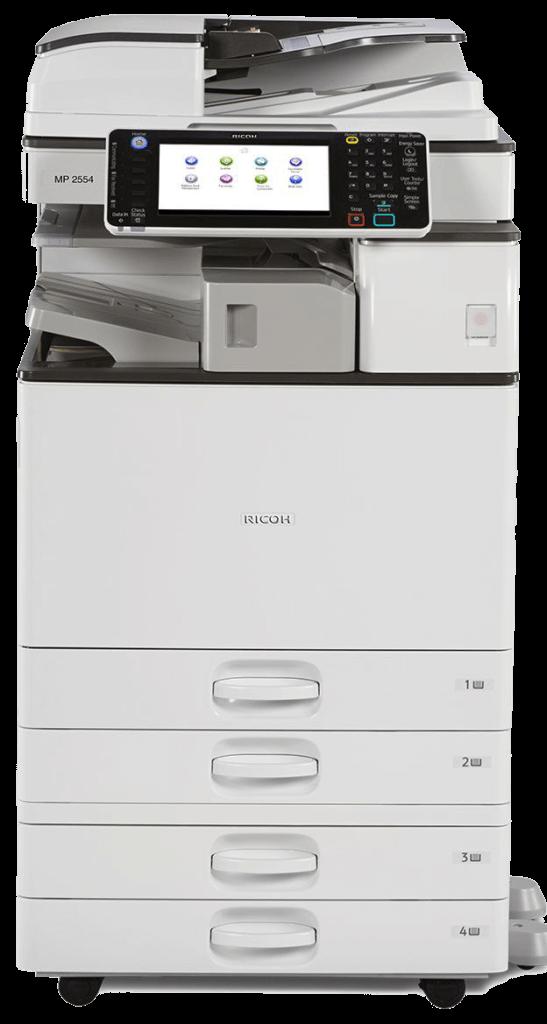 Cho thuê máy photocopy RICOH MP 2554/3054/6054/5054/4054 đen trắng thủ đức.