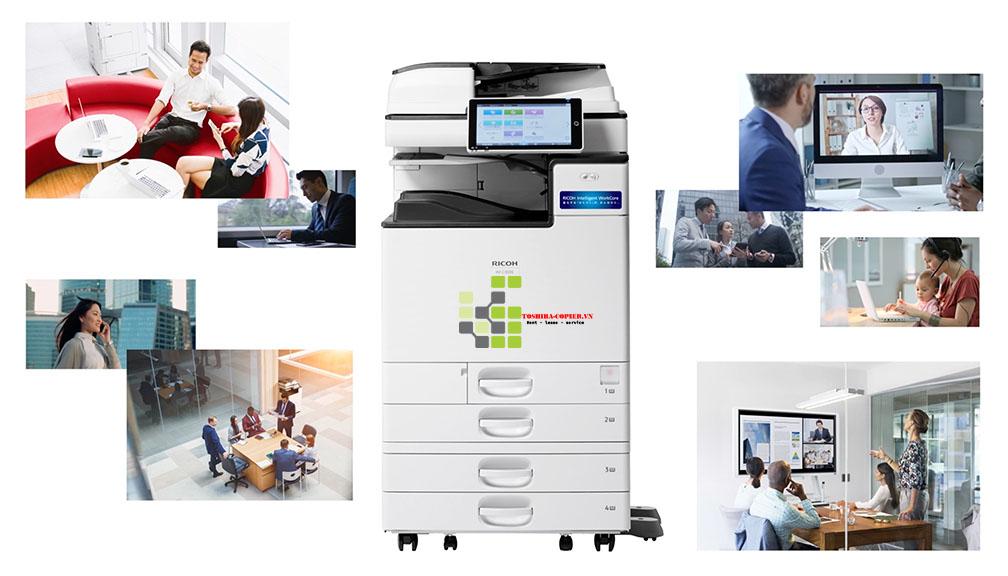 Cho Thuê Máy Photocopy Ricoh IM C3000