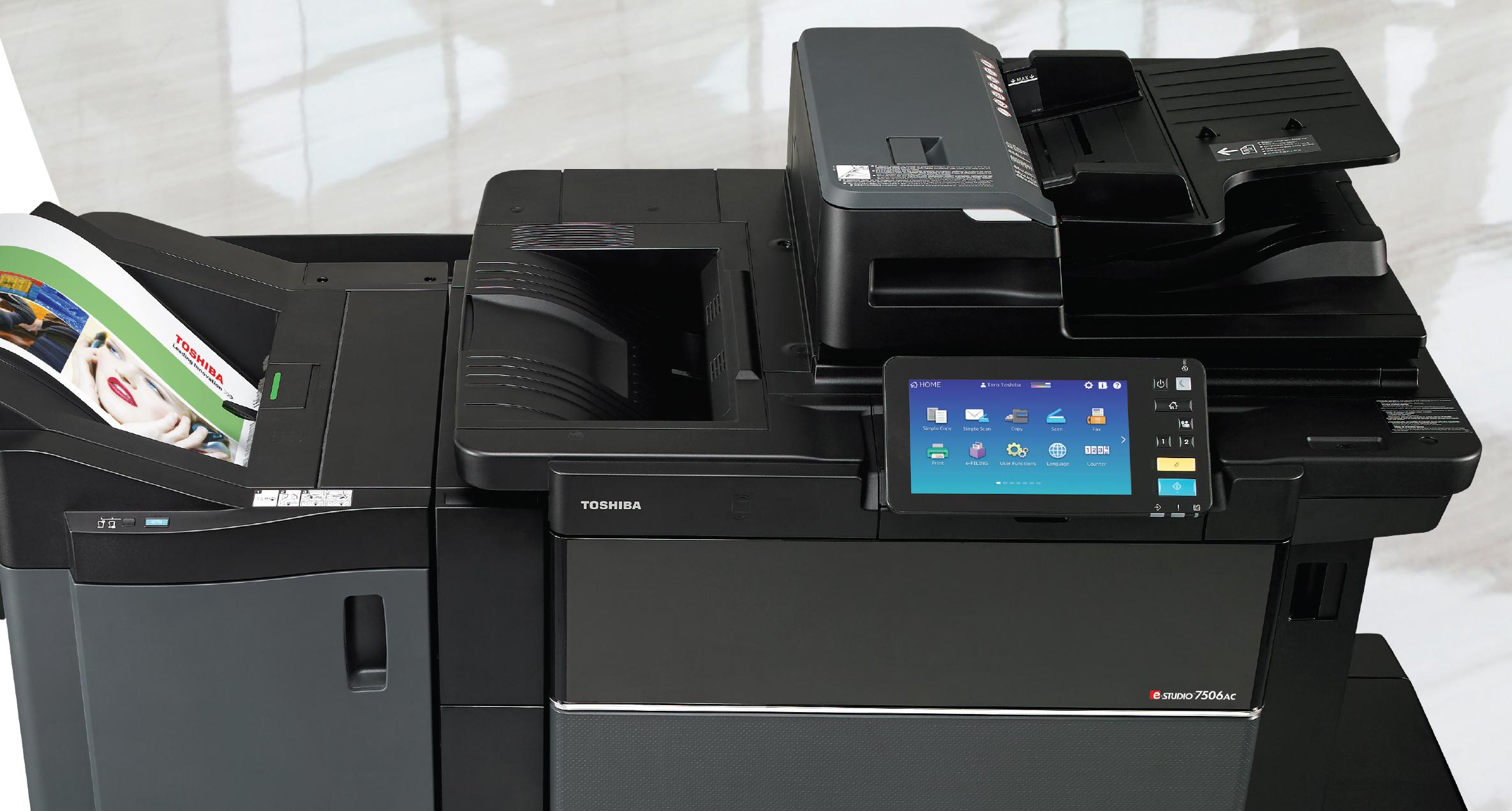 Cho Thuê Máy Photocopy màu Toshiba e-Studio 7506AC