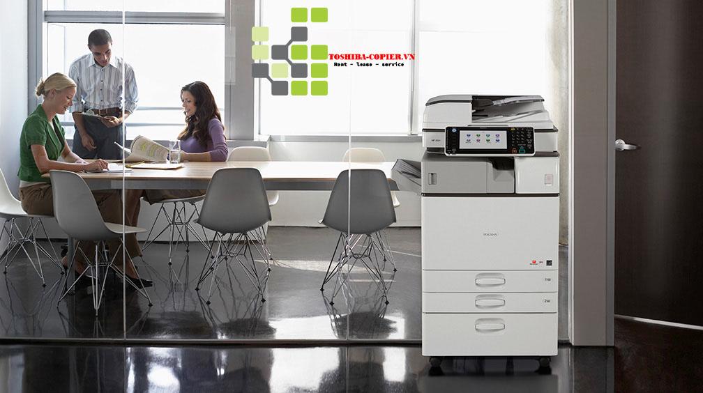 Cho Thuê Máy Photocopy Ricoh MP 6055SP Cho thuê Máy in đa chức năng Laser đen trắng ricoh 6055SP