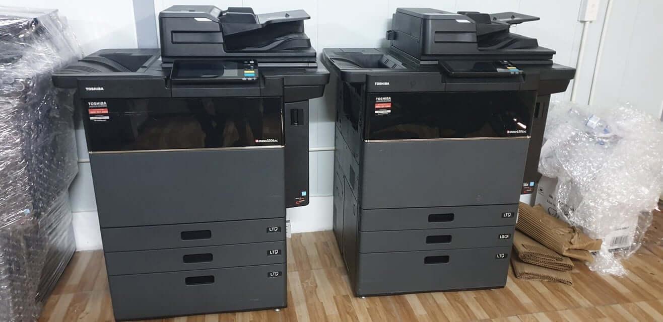 Bảng giá cho thuê máy photocopy Màu Toshiba e-STUDIO 5506AC/6506AC/7506AC